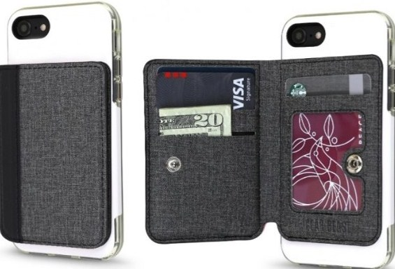 Universal Stick-On Cell Phone Wallet